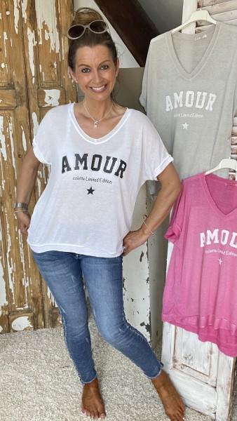 """Shirt """"Amour"""""""