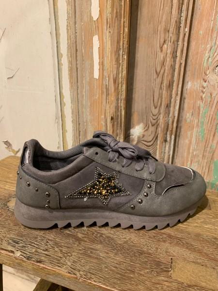 Sneaker mit Stern grau Gr. 39