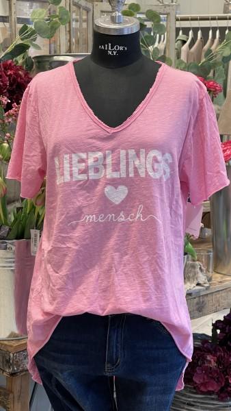 """Shirt """"Lieblingsmensch"""""""
